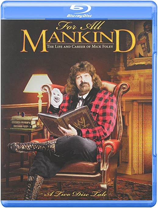 amazoncom wwe for all mankind the life and career of mick foley blu ray mick foley terry funk dominic denucci mick s trainer paul heyman