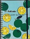 Rollbahn ロルバーン ポケット付メモ Lサイズ【地域限定 かぼす柄】