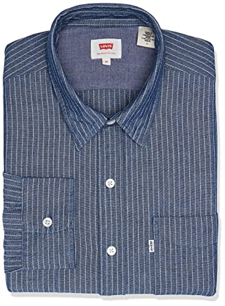 Camisa Levis Sunset One Pocket Listrada  Amazon.com.br  Amazon Moda 615d020b533