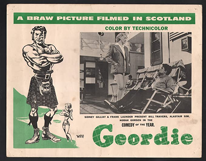 Amazon.com: MOVIE POSTER: Wee Geordie Lobby Card- Sidney Gilliat ...
