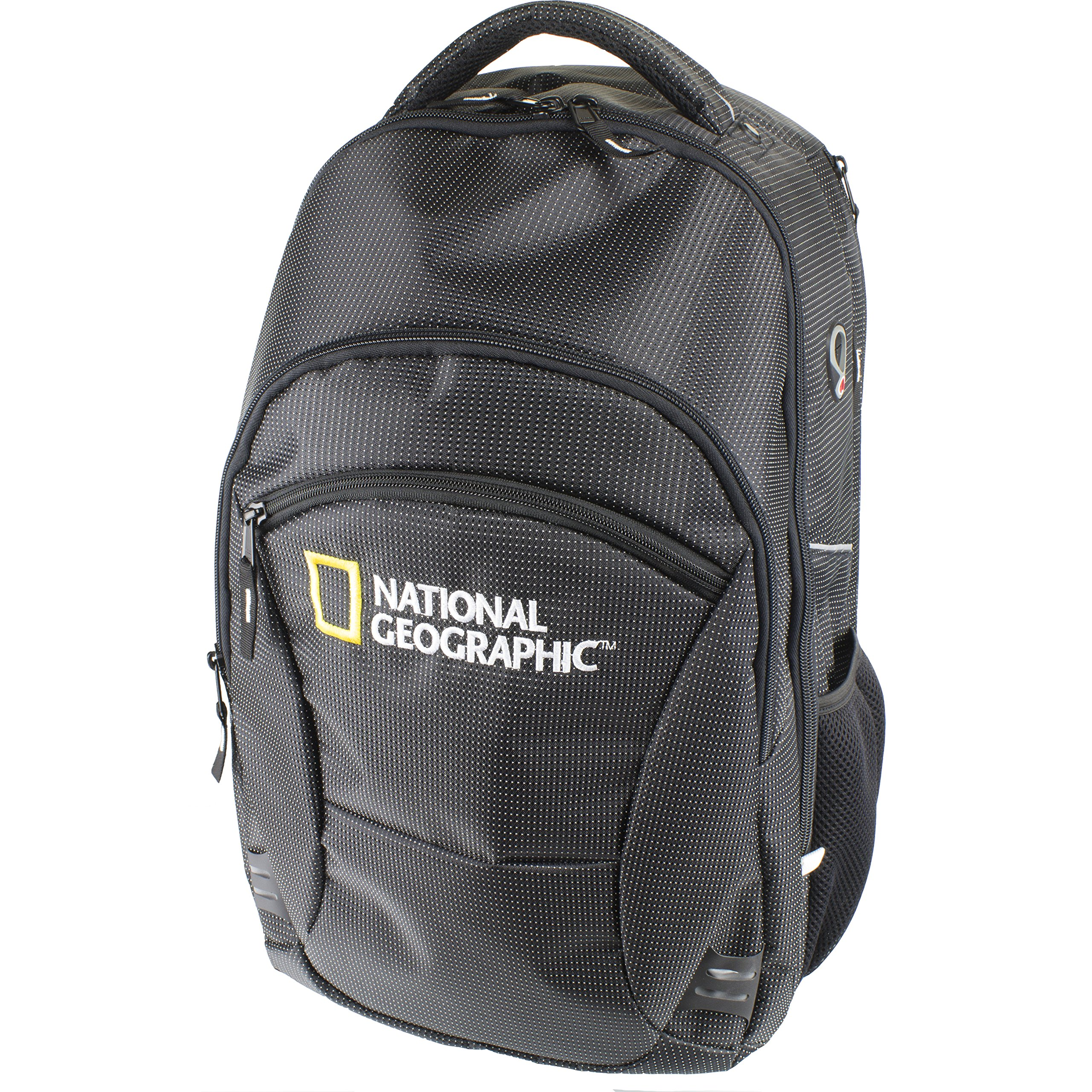 National Geographic Black and Yellow Deluxe Boat Bag Backpack