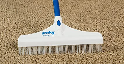 "Perky Groom Carpet Rake 12/"""