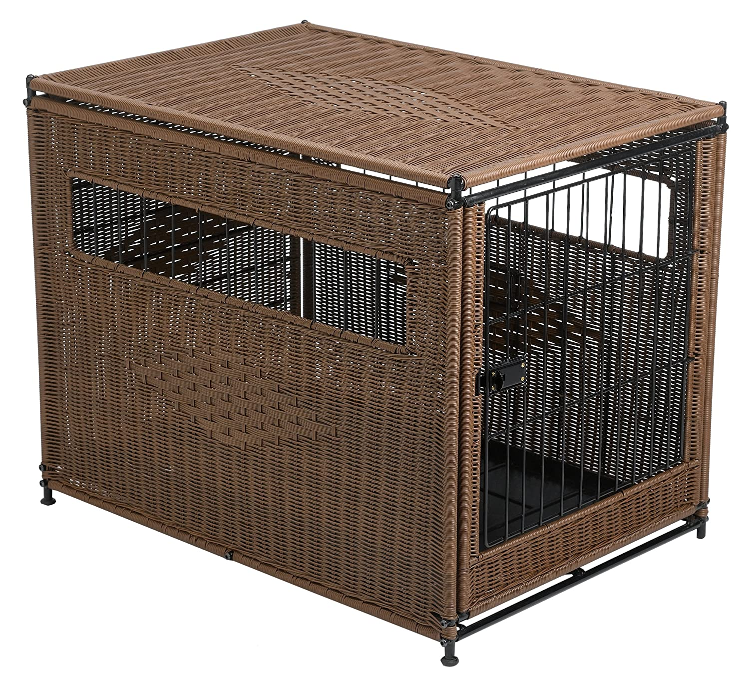 Amazon.com : Mr. Herzheru0027s Medium Pet Residence, Dark : Pet Kennels : Pet  Supplies