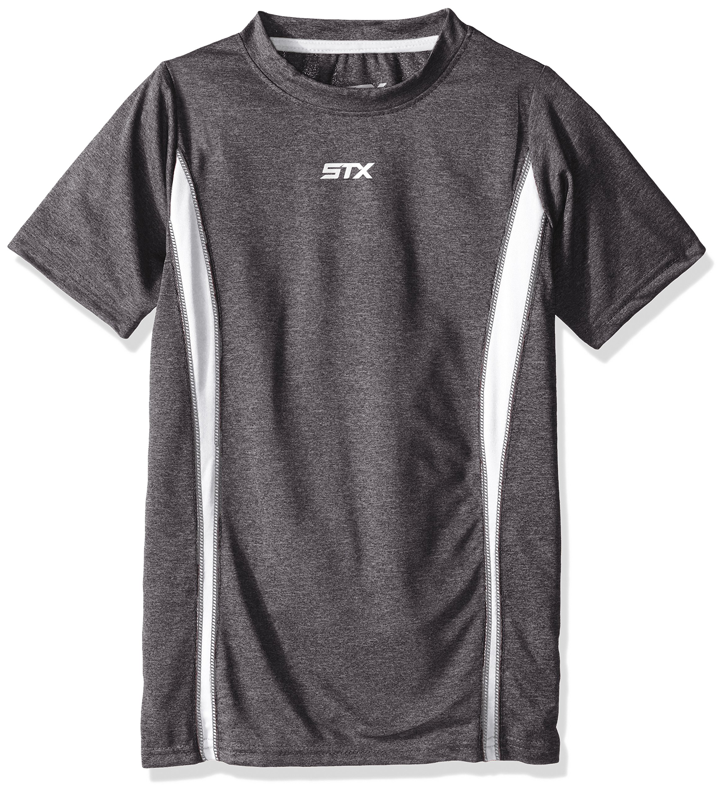 STX Little Boys Active T-Shirt and Packs, White-TP55, 4