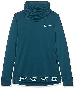 Nike G Nk Dry Hoodie Po Cor Stud Gx Sudadera, niñas, Azul (Space Blue/Light Aqua), S: Amazon.es: Deportes y aire libre