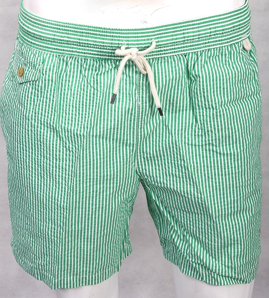 Ralph Lauren Polo Traveler de Swim - Bañador para Hombre, Verde ...