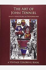 The Art of John Tenniel: Alice's Adventures In Wonderland Vintage Coloring Book Paperback