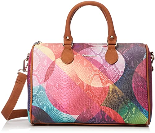 0584ddd58e33 Desigual Mercury Bowling Handbag Lila  Amazon.co.uk  Shoes   Bags