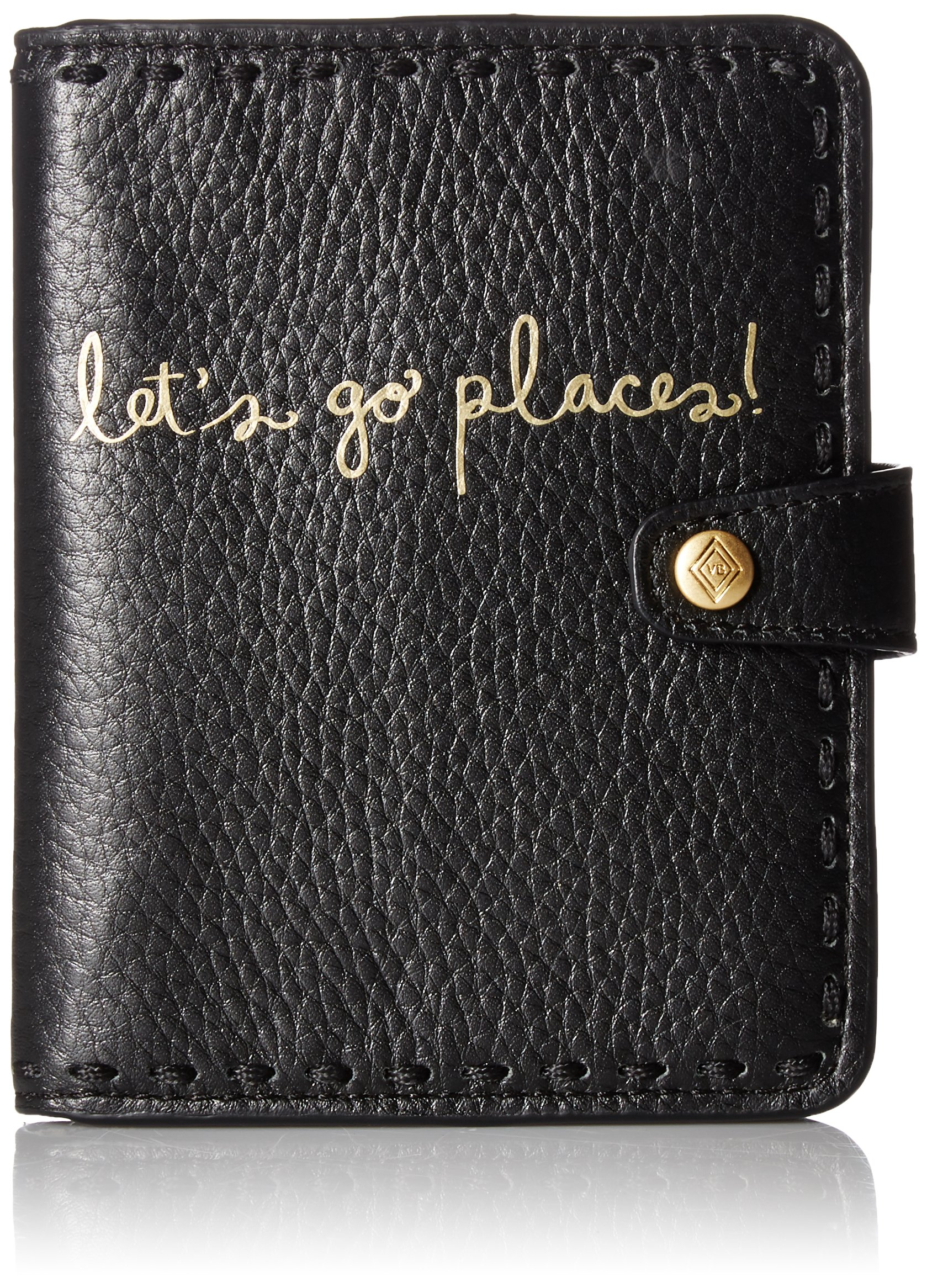 Mallory RFID Passport Wallet Pass Case, Black, One Size