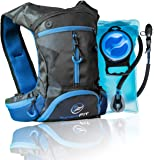InnerFit Hydration Backpack with 1.5L Water Bladder, Durable Camel Backpack Hydration Pack for Running, Cycling, Biking and Outdoor Activities - Versatile & Lightweight Hiking Backpack