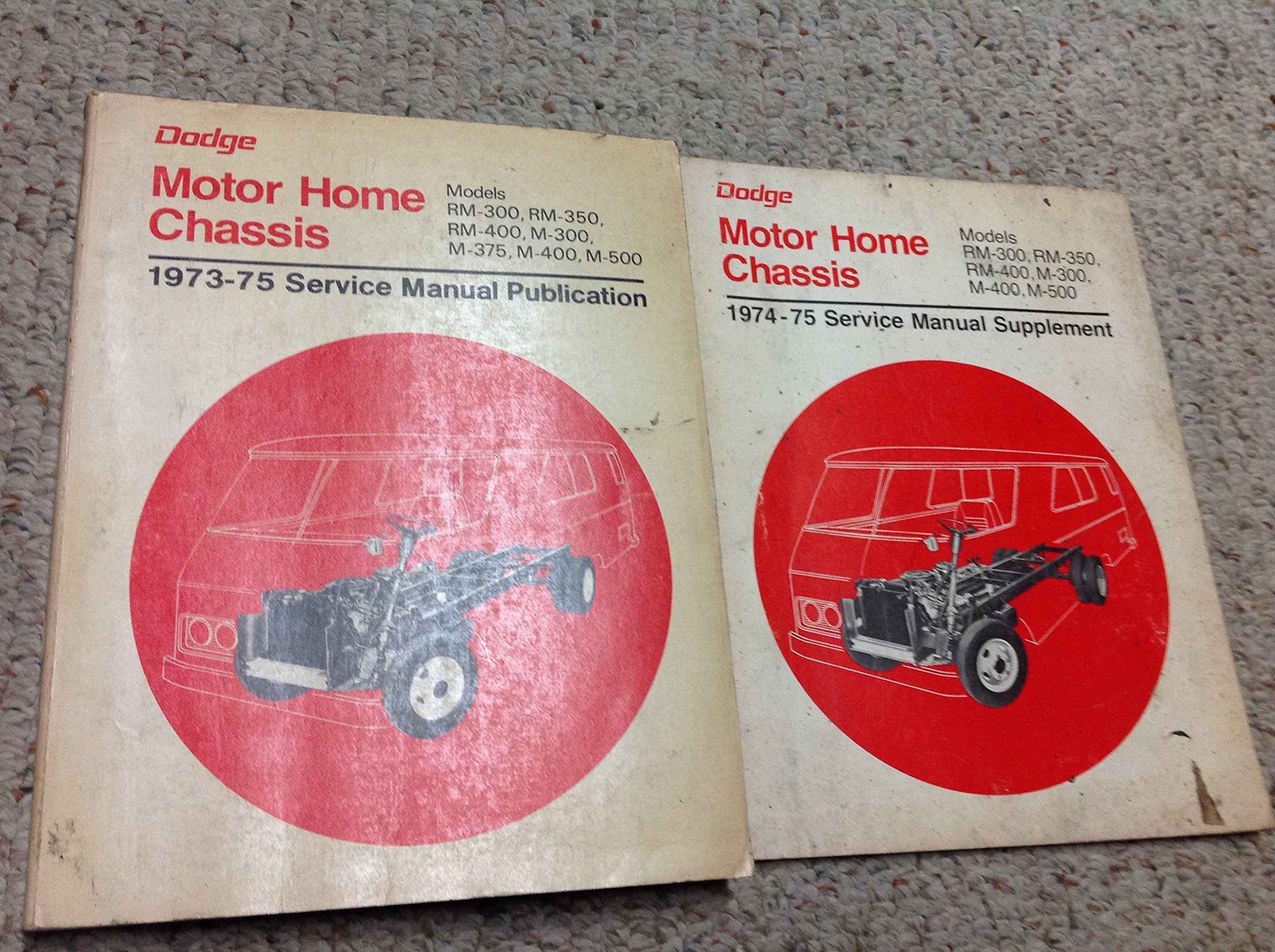 1972 1973 1974 1975 Dodge Truck Motorhome Chassis Service