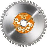 kwb Easy-Cut Allzweckblatt für Kapp- und Gehrungssägen 589333 (250 x 30 mm, 42 Zähne, Spezial-Wechselzahn)