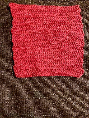Amazoncom Kitchen Towel Crocheted Dish Towel Crochet Decor Handmade
