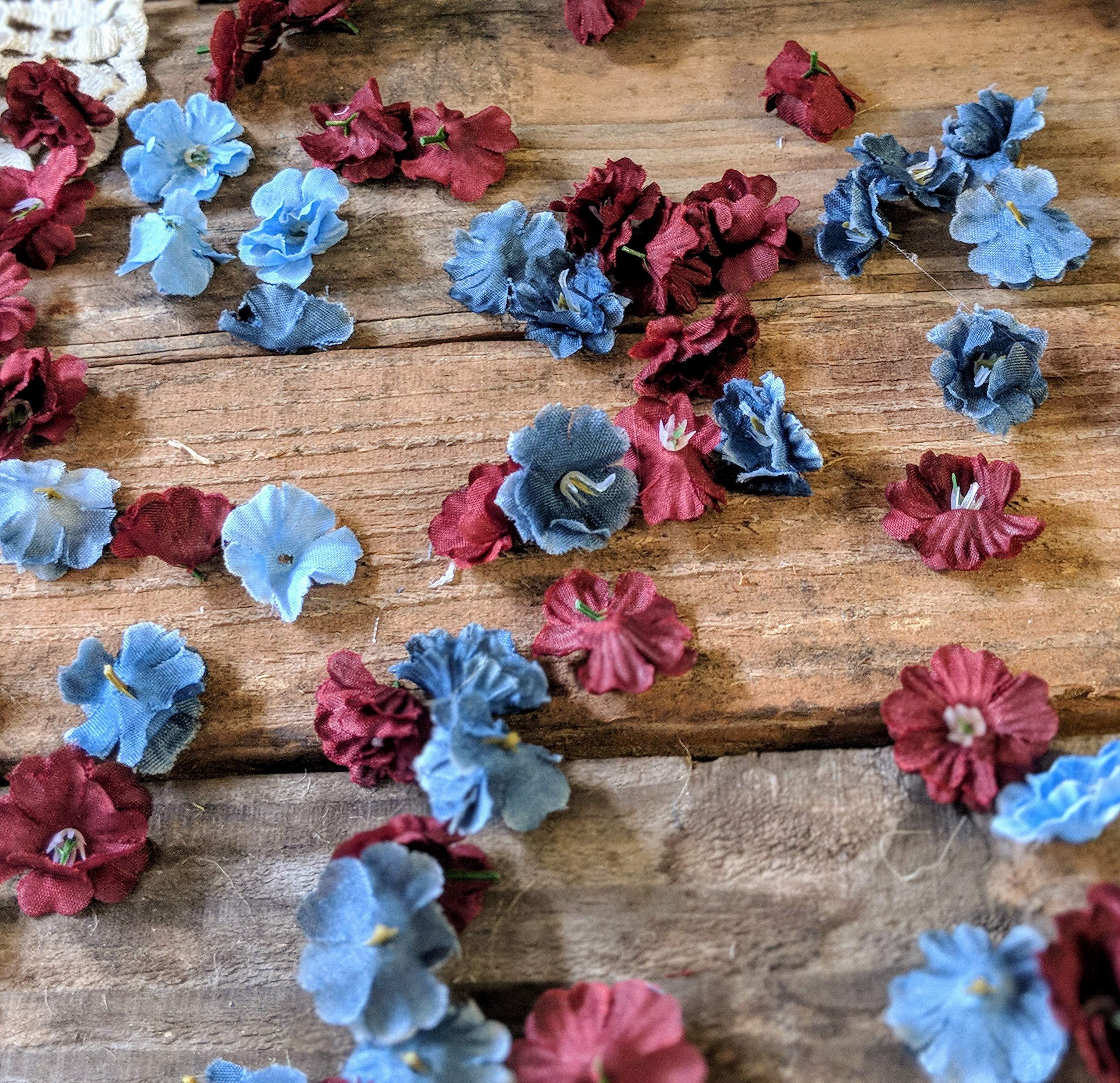 Wedding-Table-Decorations-for-Reception-Flower-Confetti