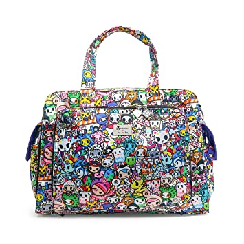 13a84209d958 JuJuBe Be Prepared Travel Carry-on/Diaper Bag, Tokidoki Collection - Iconic  2.0