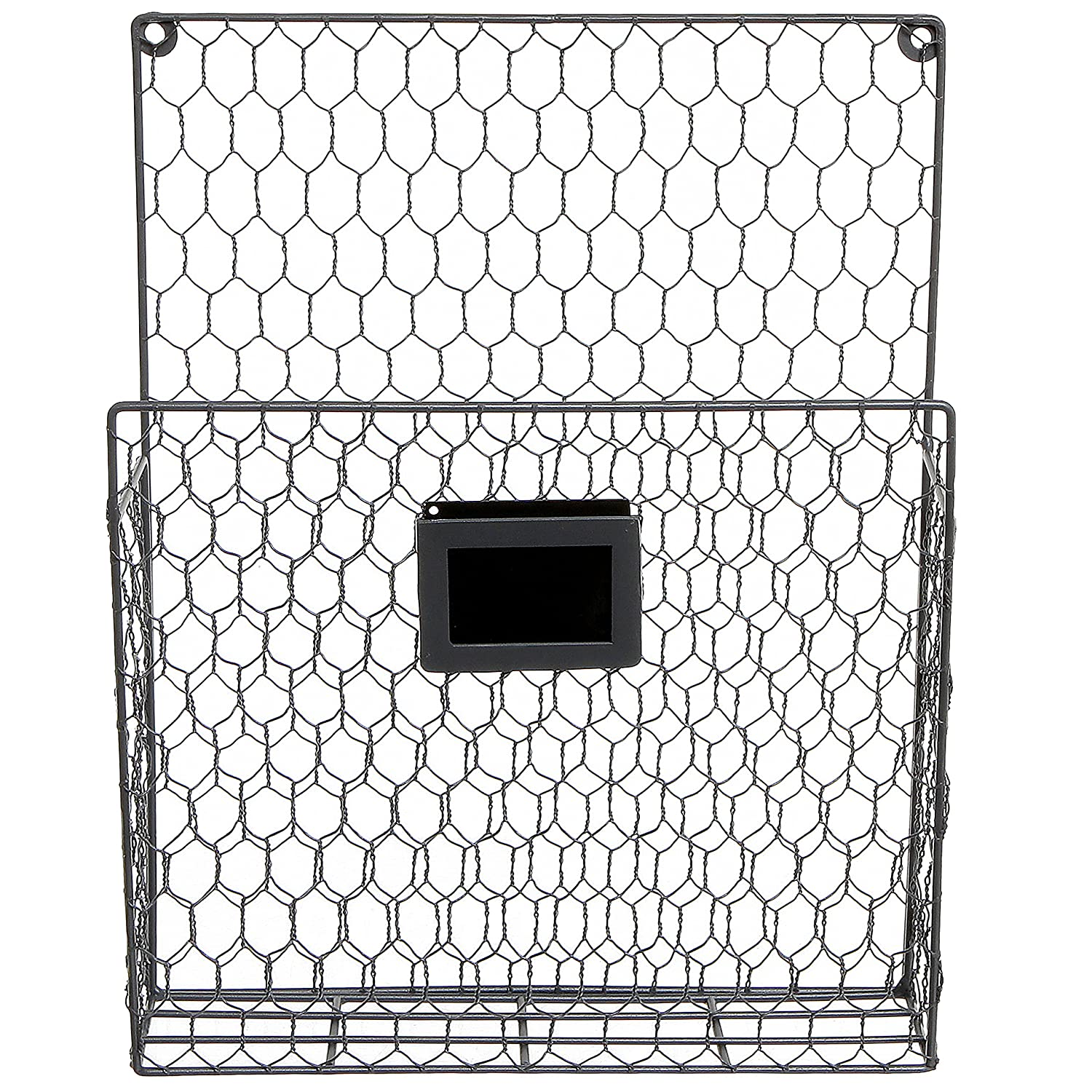 Famous Amazon.com: Wall Mounted Rustic Style Chicken Wire Gray Metal  DD48