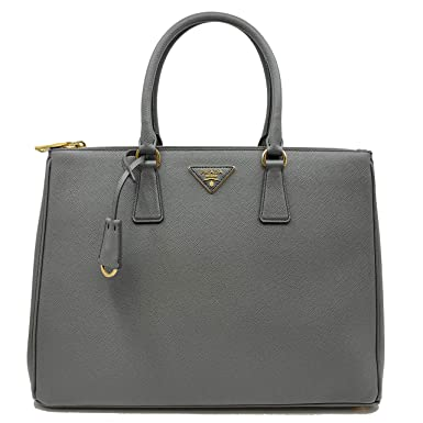 97379dec8738b3 Image Unavailable. Image not available for. Color: PRADA Saffiano Lux  Galleria Gray Leather Ladies Tote 1BA786NZV