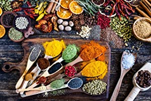 Jigsaw Puzzles for Adults 1000 Piece – Family Fun Game of Colorful Spices and Herbs – Connexio Puzzles Spice of Life
