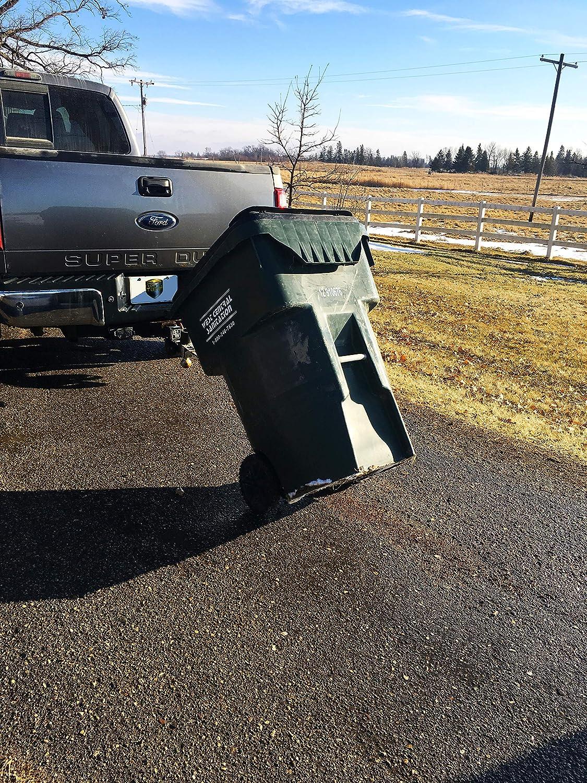 Tow Tuff TTF-DD Dumpster Dolly Black