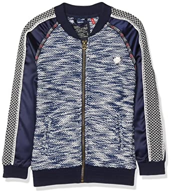 Petrol Industries G-FW17-BLA003-5095, Blouson Fille, (Classic Navy), 16 Ans (Taille Fabricant: 176)