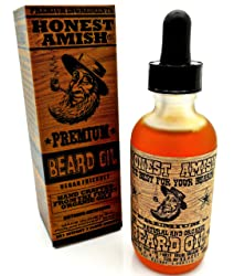 honest amish premium beard oil