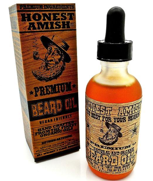Honest Amish - Premium Beard Oil - 2 Ounce
