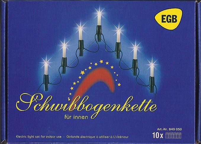 EGB Schwibbogenlichterkette 10flg.: Amazon.de: Elektronik