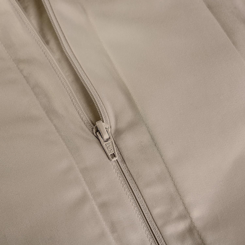 Percale Latte 415 Thread Count Full//Queen Peru Pima Duvet Cover 100/% Peruvian Pima Cotton