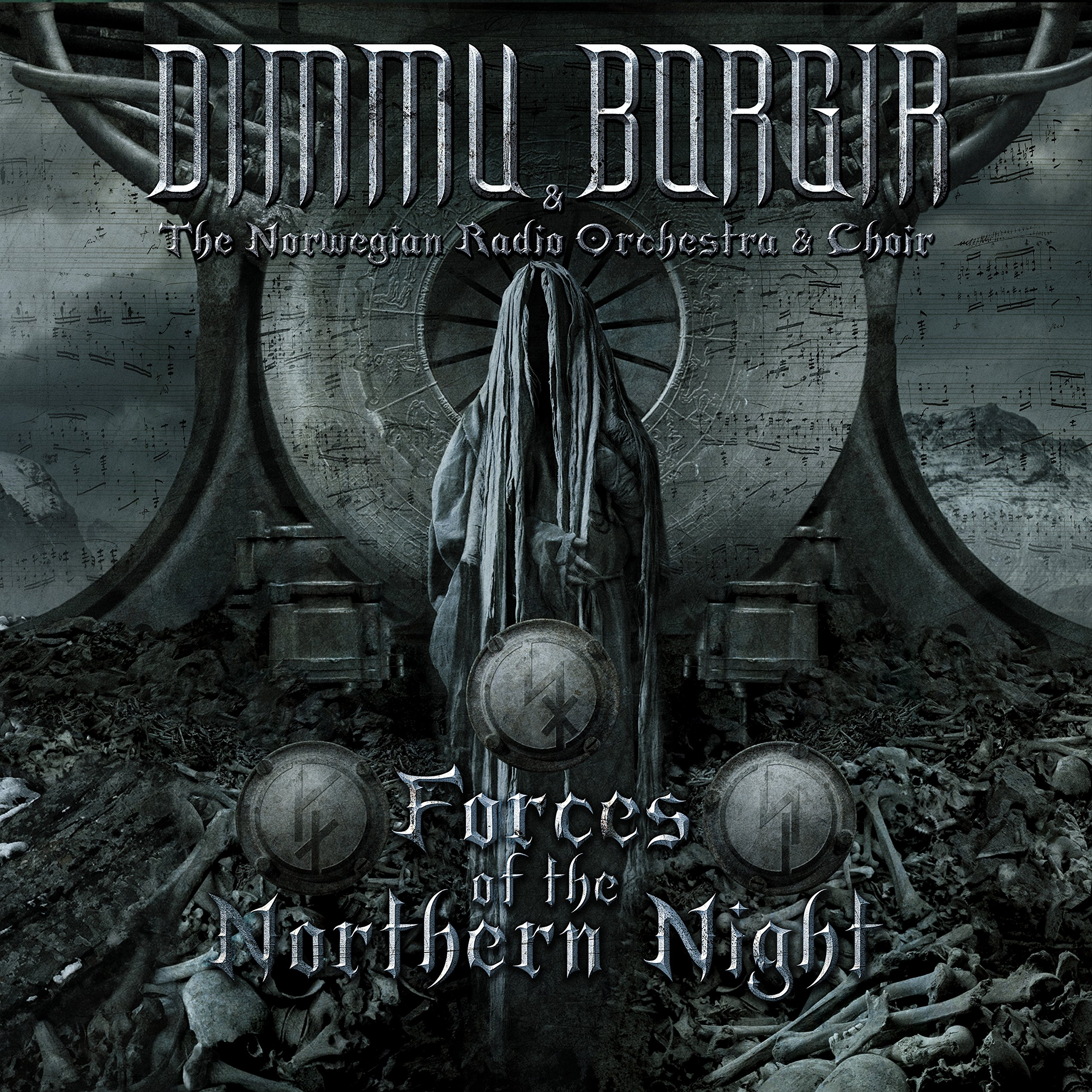 CD : Dimmu Borgir - Forces Of The Northern Night (With DVD, Digipack Packaging, 3 Disc)