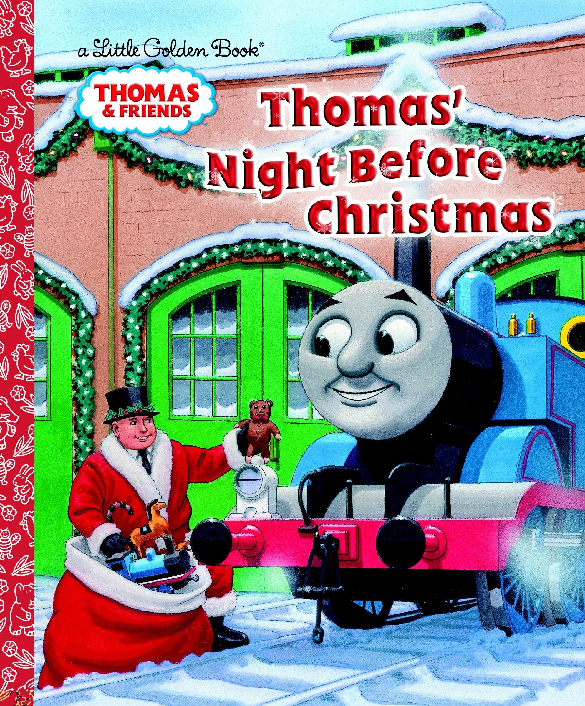 Thomas\' Night Before Christmas (Thomas & Friends) (Little Golden ...
