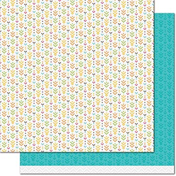 Amazon Com Lawn Fawn Lf1729 Table Runner 12x12 Patterned Paper 12