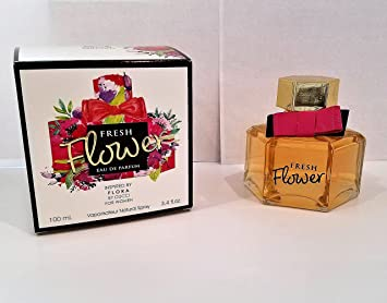 157a2646f Mirage Brands Fresh Flower 3.4 Ounce EDP Women's Perfume | Mirage Brands is  not associated in