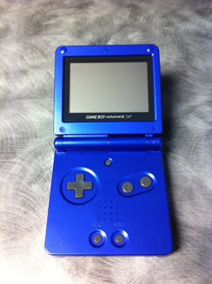 Nintendo Game Boy Advance SP - Cobalt: Artist ... - Amazon.com
