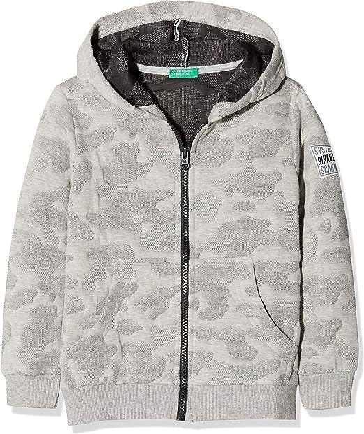 Sweat-Shirt /à/Capuche B/éb/é gar/çon UNITED COLORS OF BENETTON Jacket W//Hood L//S