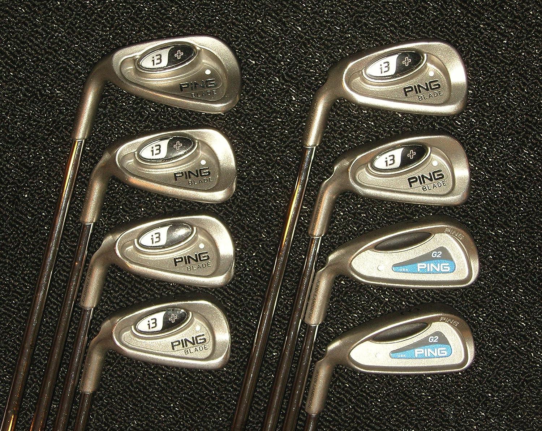 Amazon.com: Ping i3 + Blade palos de golf, color blanco Dot ...