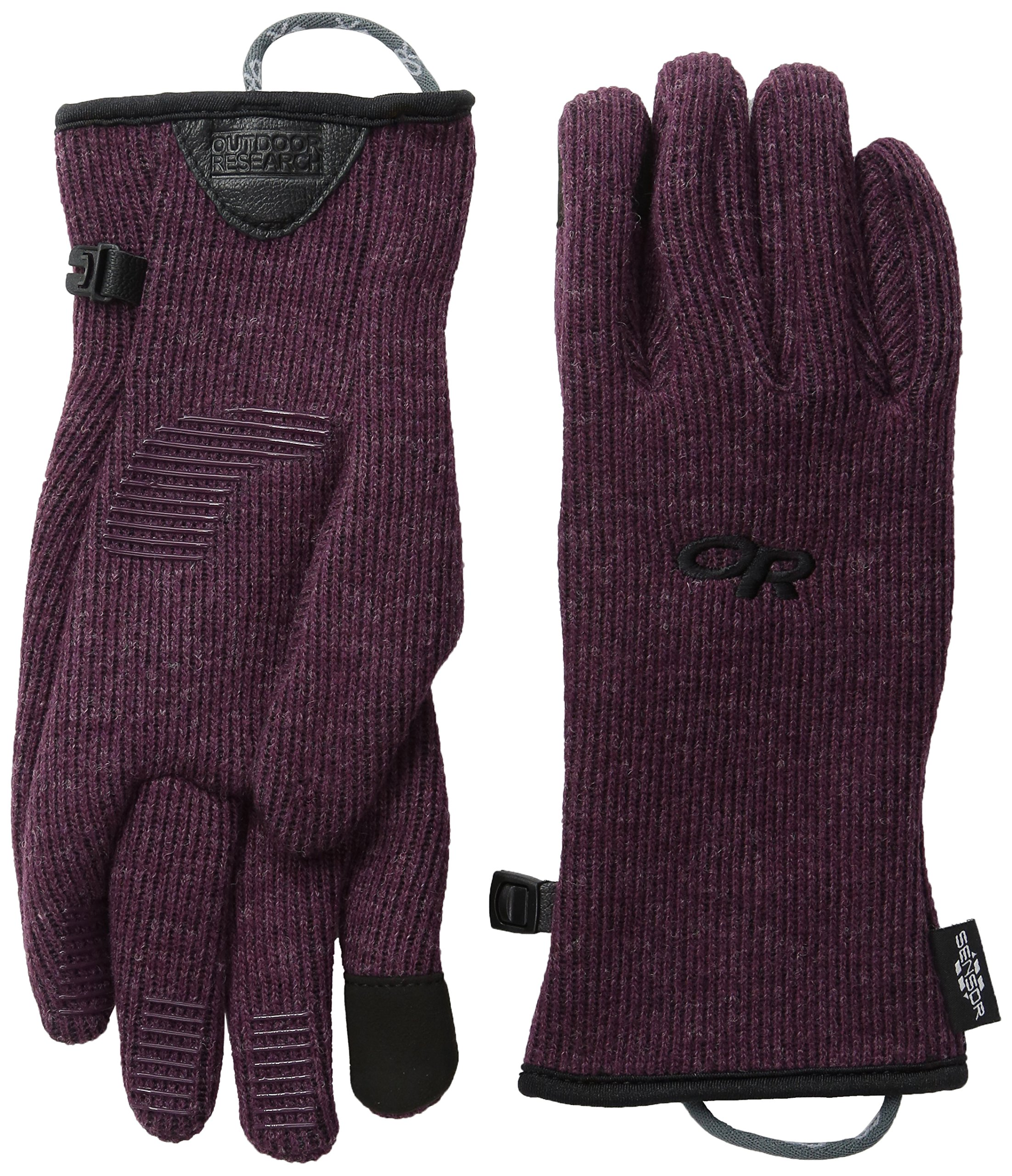 Outdoor Research Women's Flurry Sensor Gloves, Pinot, Medium by Outdoor Research