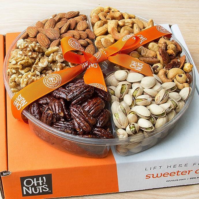 金盒特价 Oh! Nuts 坚果礼盒 1.5磅约680g $23.99 海淘转运到手约¥217