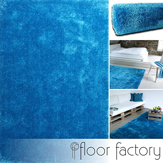 21 opinioni per Tappeto Moderno Seasons azzurro 80x150 cm- tappeto shaggy pelo lungo molto