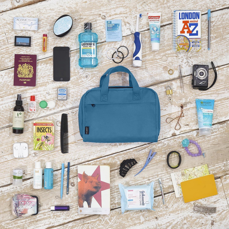Travel Cosmetic Bag Hanging Toiletry Makeup Organizer Medium Size Cosmetics Make Up Ykk Zippers Lilliput