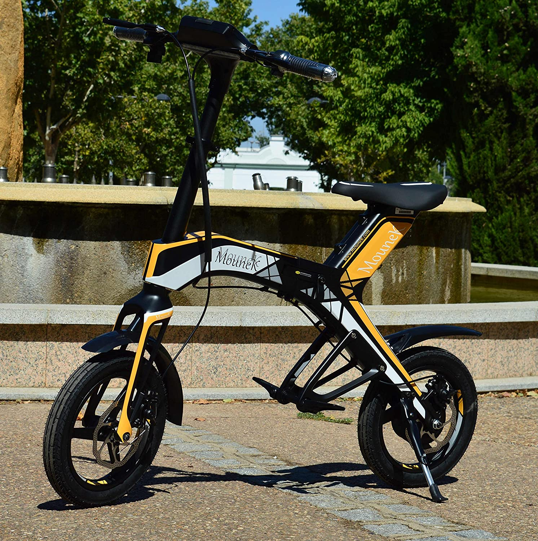 Bicicleta scooter eléctrica 300W 14
