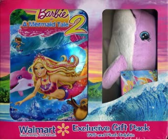 Amazon Com Barbie In A Mermaid Tale Limited Edition Dvd Set