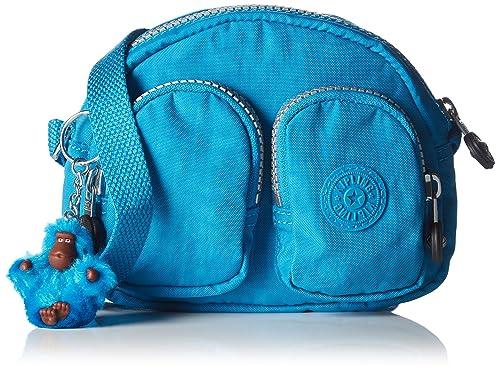 388990dbe0bd Kipling Womens Kalipe Shoulder Bag Icy Blue  Amazon.co.uk  Shoes   Bags