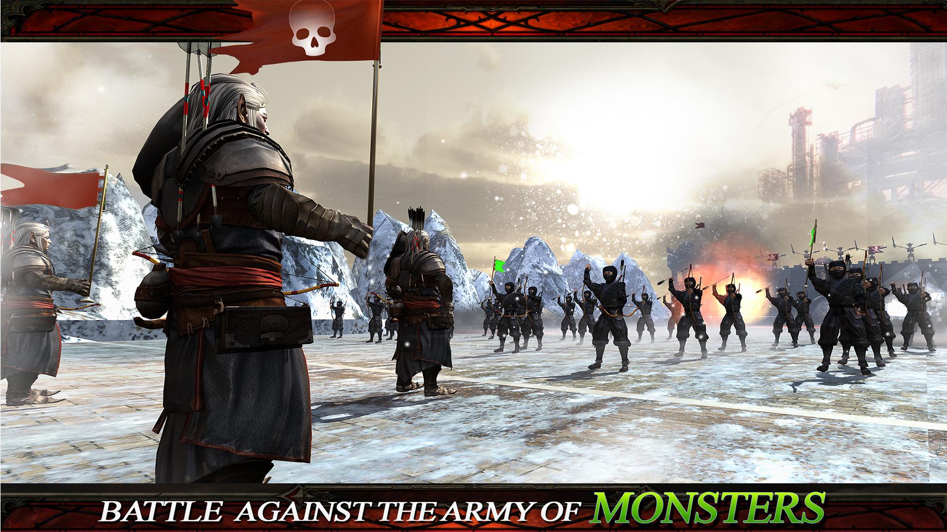 ninja vs monstruo guerreros batalla épica: Amazon.es ...