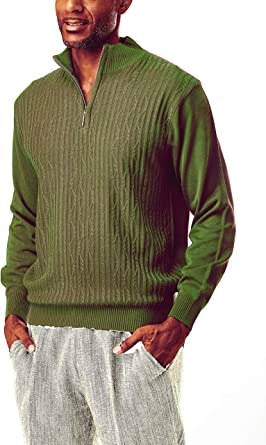 STACY ADAMS Mens Sweaters Modern