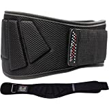 Grip Power Pads Weightlifting Gym Belt Powerlifting For Men & Women 6 Inch Back Support Best for Olympic Gym Lifting