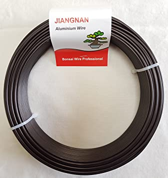 Bonsai Draht, Rolle 500g, Nr.1-4,0 mm: Amazon.de: Garten