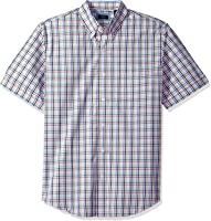 Arrow Mens Hamilton Plaid Short Sleeve Shirt