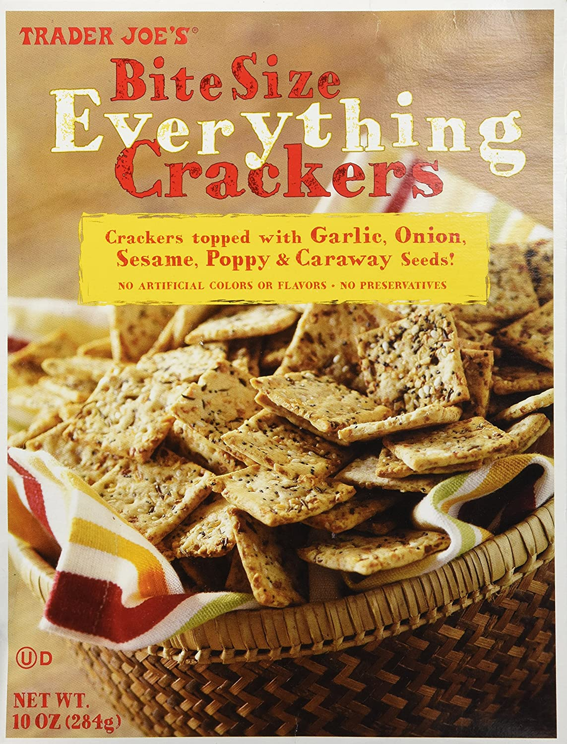 Amazon.com: Trader Joe's Bite Size Everything Crackers