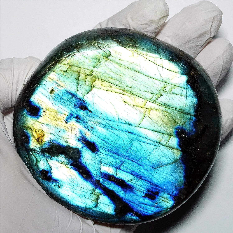 【N2 stone Natural】天然鉱物 ラブラドライト (曹灰長石/labradorite) |
