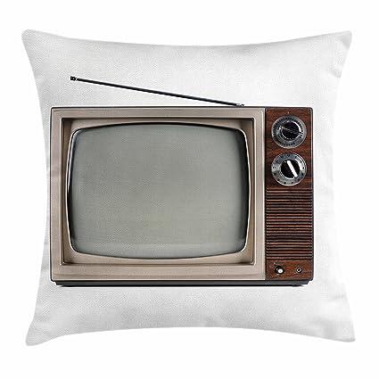 Amazon.com: Lunarable - Funda de cojín de los años 50 con ...